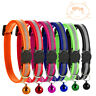6pcs/Lot Quick Release Puppy Dog Kitten Cat Breakaway Collar Safety with Bell