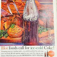 Vintage Coke Ad 1961