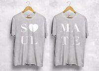 Soul Mate T Shirt Matching Couple Love Boyfriend Girlfriend Wifey Hubby Gift