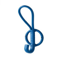 New Ikea lot of 3 Hooks,  Blue