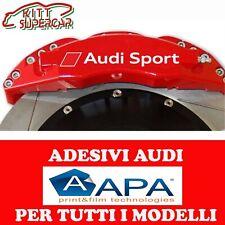 010 Bianco Kit Adesivi Stickers pinze Freno Compatibile Fiat 500 Pinza Freni Decal Auto Macchina cod 1319