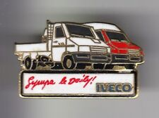 RARE PINS PIN'S .. CAMION TRUCK WAGEN IVECO SYMPA LE DAILY PICKUP ET VAN ~DV