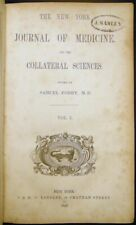 1843 New Journal Medicine Science Medical History Samuel Forry Roundout Ny Fever