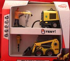 "++Wacker Neuson ""TWIN SET"" Dickie Toys ++  M 1/24 ++Generator Presslufthammer++"