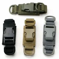 New!Tactical Key Ring Keychain Quick Release Buckle For Molle Bag Backpack Waist