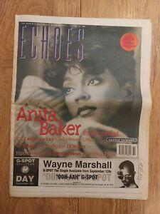 ECHOES MAGAZINE 10 SEPTEMBER 1994 ANITA BAKER PORTISHEAD GRAVEDIGGAZ DJ BIZNIZZ