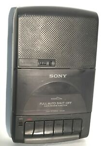 Sony Full Auto Shut-Off Cue & Review Function Cassette-Corder TCM-929 Recorder