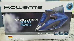 New ROWENTA PRO DW5192U1 Steam Iron Stainless Steel 1750W Auto Off Anti-Calcium