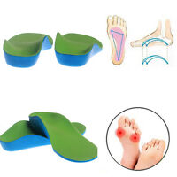 Orthotic Flat Feet Foot Arch Gel Heel Support Shoe Inserts Insoles Pads for Kids