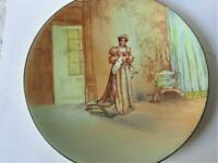 Antique KATHERINE Royal Doulton collector plate Shakespeare Series HENRY VIII