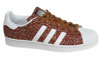Adidas Originals Superstar Lace Up Fox Red Synthetic Mens Trainers S85981 B9D