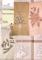 Deck the Halls Anita Goodesign Embroidery Machine Design CD NEW