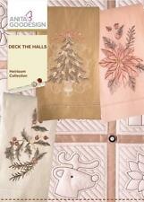 Deck the Halls Anita Goodesign Embroidery Machine Design CD NEW