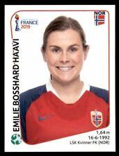 Panini FIFA World Cup 2019 France Women #78 Emilie Bosshard Haavi Norway