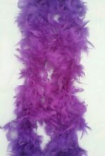 1920s Purple Flapper Feather Boa 20s Party Boa / Scarf Fancy Dress Up Costume