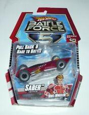 Hot Wheels Battle Force 5 Saber Vehicle Pull Back & Race to Battle New 2009