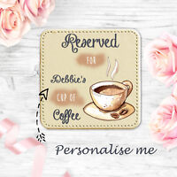 Personalised Gifts For Her Mum Nan Gran Auntie Sister Godmother Coffee Coaster