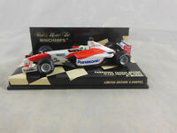 Minichamps 400 020075 2002 Panasonic Toyota Racing TF102 Showcar No 25 A McNish