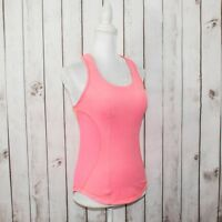 Lululemon Women's Cardio Kick Tank Top Coral Pink Racerback Pocket fits Small
