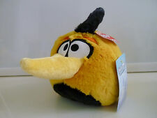 """NEW Angry Birds Yellow Orange Globe Bubbles Plush with Tags 5"""" - NWT with SOUND"""