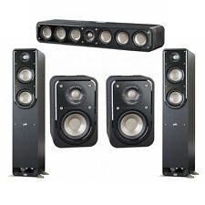 Polk Audio Signature 5.0 System with 2 S50 Tower Speaker, 1 Polk S35 Center Spea