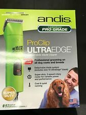 Andis ProClip AGC2 UltraEdge 2-Speed Detachable Blade Pet Clipper 22585 New!