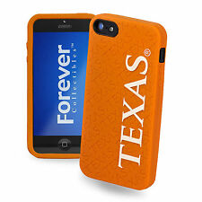 Texas Longhorns All Silicone IPHONE 5 soft cell phone cover/case - NCAA Licensed