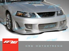 for Mustang 99-04 Ford BMX style Poly Fiber Front bumper body kit front