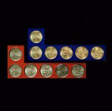 2009 P+D   D.C. & U.S. Territories ~ Satin Quarter Set ~ In Original Mint Strips