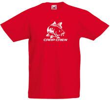 Carp Crew inspired Kids Printed T Shirt Boys Girls Casual Crew Neck Tee Top