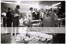 1957-rpt Mafia Gangster Albert Anastasia Murder Inc Park Sheraton Hotel CRIME NY