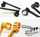 31/33/35/36/37/38/39/40/41mm Fork Clip-ons Bar Tube Riser Regular Handlebar CNC