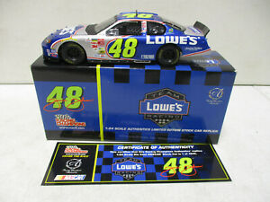 2003 Racing Champions Authentics Jimmie Johnson Lowes 1/24 12/16
