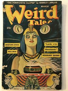 March 1945 Weird Tales Science Fiction magazine