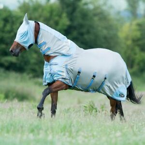"""Gallop All In One Fly Rug - 5.9"""" - Full Neck Combo, Belly Flap & Free Fly Mask"""