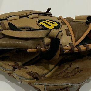 "WILSON A0442 11"" SOFTBALL FASTPITCH GLOVE LH PLAYER(GOES ON RIGHT HAND)"