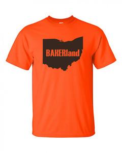 Baker Mayfield Cleveland Browns BAKERLAND T Shirt Brand New