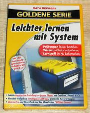 Data Becker's Goldene Serie - Leichter lernen mit System (2005) NEU, PC