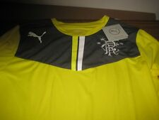 GLASGOW RANGERS goalkeeper shirt long sleeve PUMA 2013-2014 XLB 32/34 INCHES