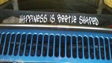 Le bonheur est Beetle en Forme de Drôle Autocollant Voiture VW VOLKSWAGEN COCCINELLE KAFER Cox NEW