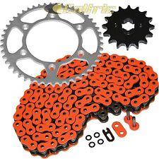 ORANGE O-Ring Drive Chain & Sprockets Kit Fits KTM 525 EXC SX 2003-2006