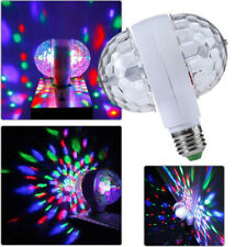 RGB LED Bühnenlicht bunte Kugel rotierende Birne E27 6W Disco Party Disco Bar DE