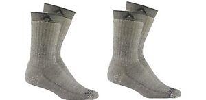 2Pack Wigwam S2322 Merino Comfort Hiker Sock charcoal Small women 4-7 youth 1-5