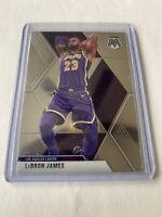 2019-20 Panini Mosaic Lebron James Los Angeles Lakers Base #8 Card
