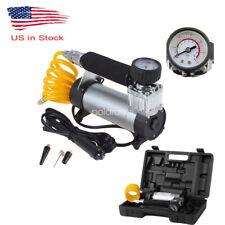 Heavy Duty Portable 12v 100psi Car Van Tyre Tire Inflator Pump Air Compressor