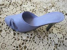 """Shoe Figurine Heel Purple Sling Back Encore Sale Ltd 4"""""""