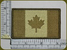 CANADA ARMY FLAG PATCH COMBAT MORALE MILITARY GREEN MULTICAM MILSPEC ACU LEAF 81