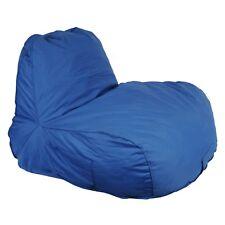 Bean Bag Lazy Lounger Blue Beanbag Relax Chair Cushion Indoor Outdoor Home Sofa