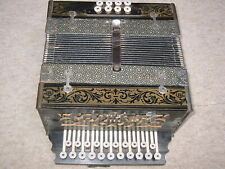 Nice old diatonic button accordion 2 row (vienna style)