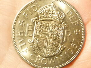 1967 Elizabeth II HALFCROWN - BUNC  #M32